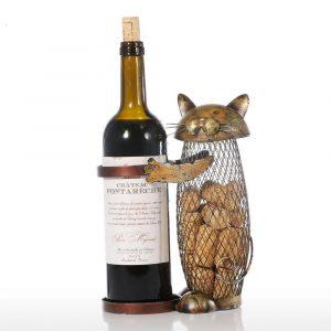 Cat Wine Stand 15