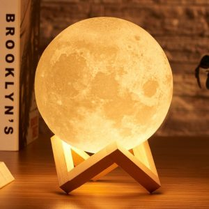 Rechargeable Moon Lamp Night Light 16