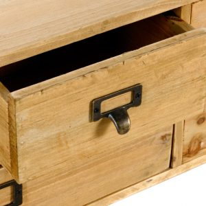 Wooden Cabinet with 6 Drawers 6