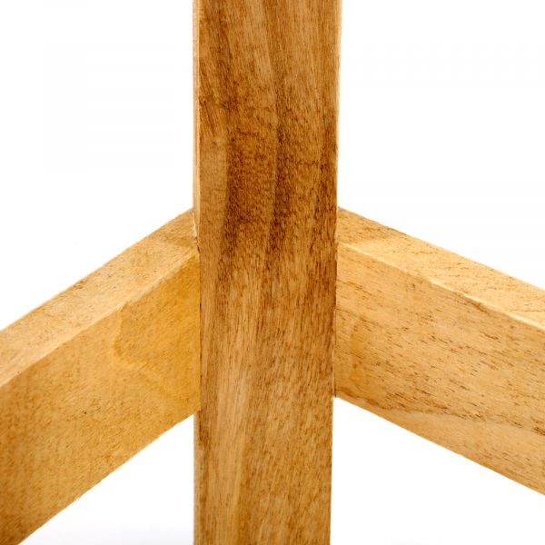Wood Shabby Chic Stool 2
