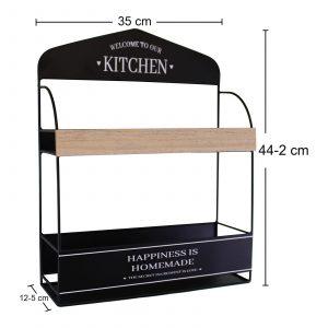 Decorative Wall Hanging Kitchen Shelving Unit 3