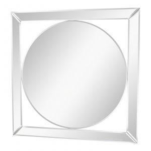 Deco Style Bevelled Edge Mirror