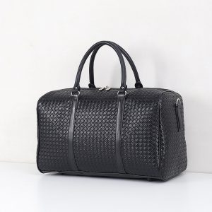 Mens Large Faux Leather Duffel Bags