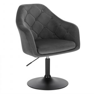 Faux Leather Swivel Height Adjustable Lounge Chairs 16