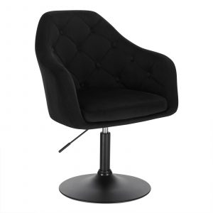 Faux Leather Swivel Height Adjustable Lounge Chairs 17