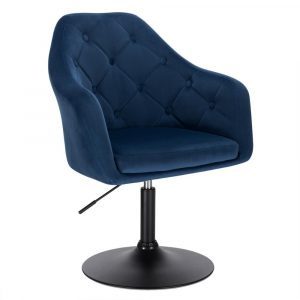 Faux Leather Swivel Height Adjustable Lounge Chairs 2