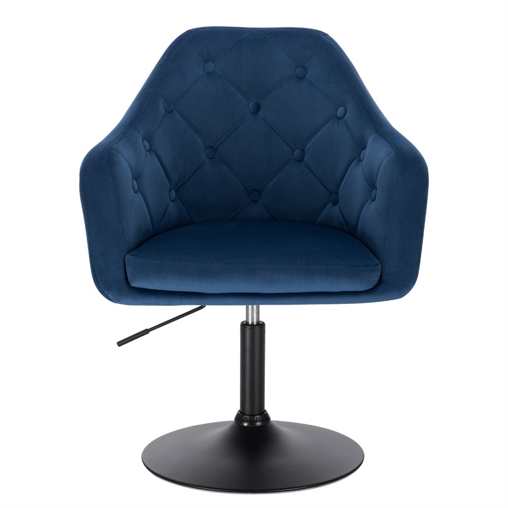 Faux Leather Swivel Height Adjustable Lounge Chairs