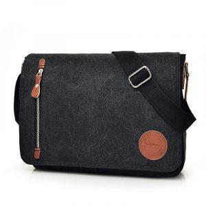 Retro Unisex Canvas Shoulder Crossbody Bags 10