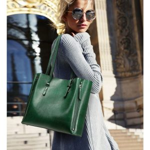 Luxurious Large Soft Leather Tote Bag