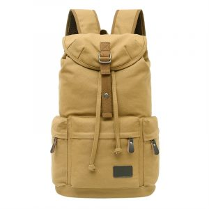 Mens Canvas Large Casual Backpack